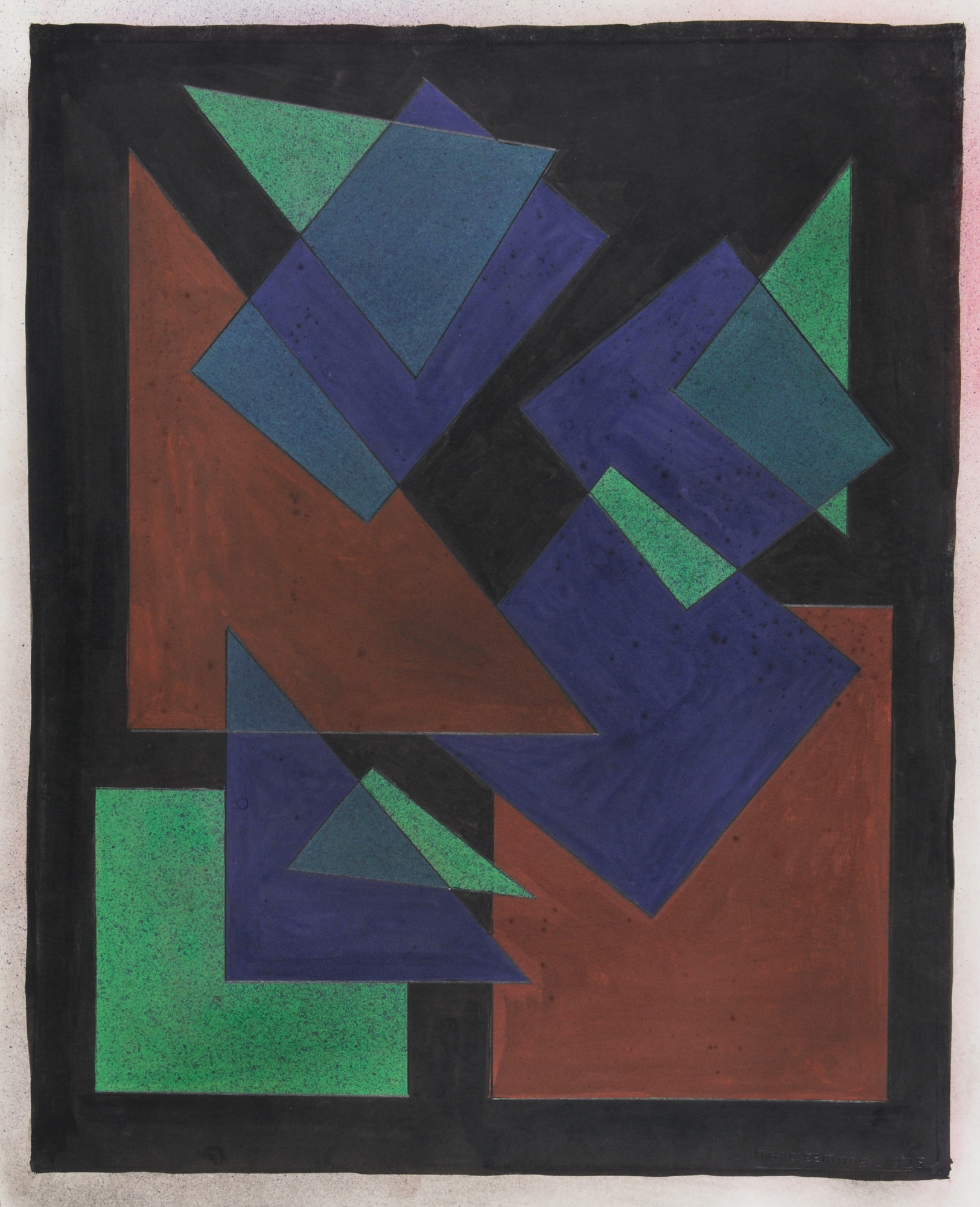 Eemans Marcel Marc, Abstract Composition