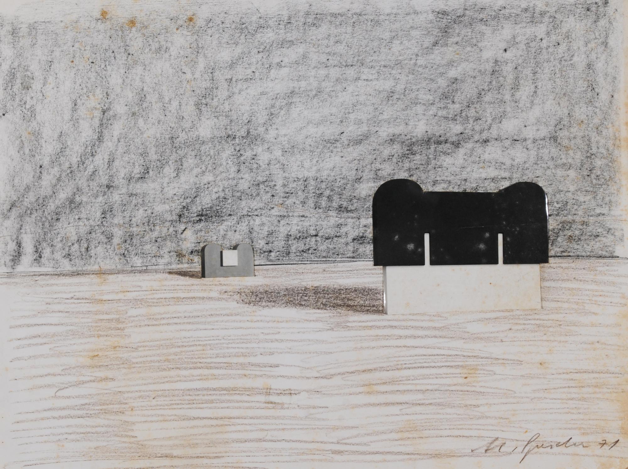 Spescha Matias, Entwurf (Study)