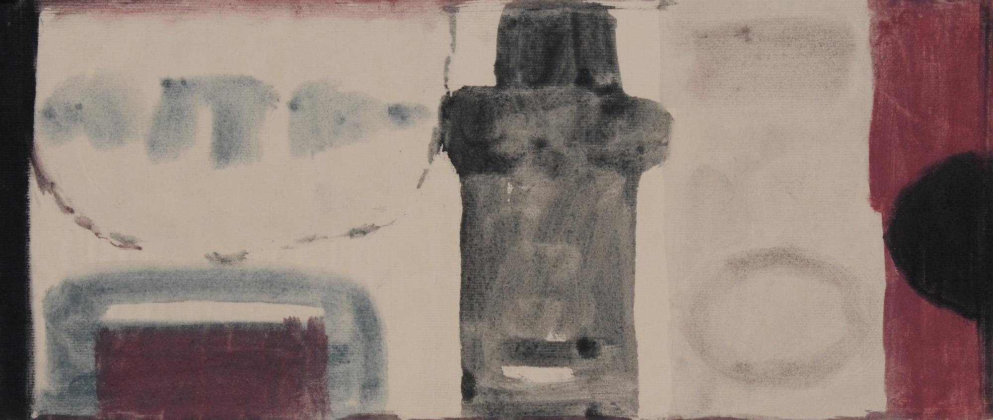 Spescha Matias, Esquisse pour une peinture murale