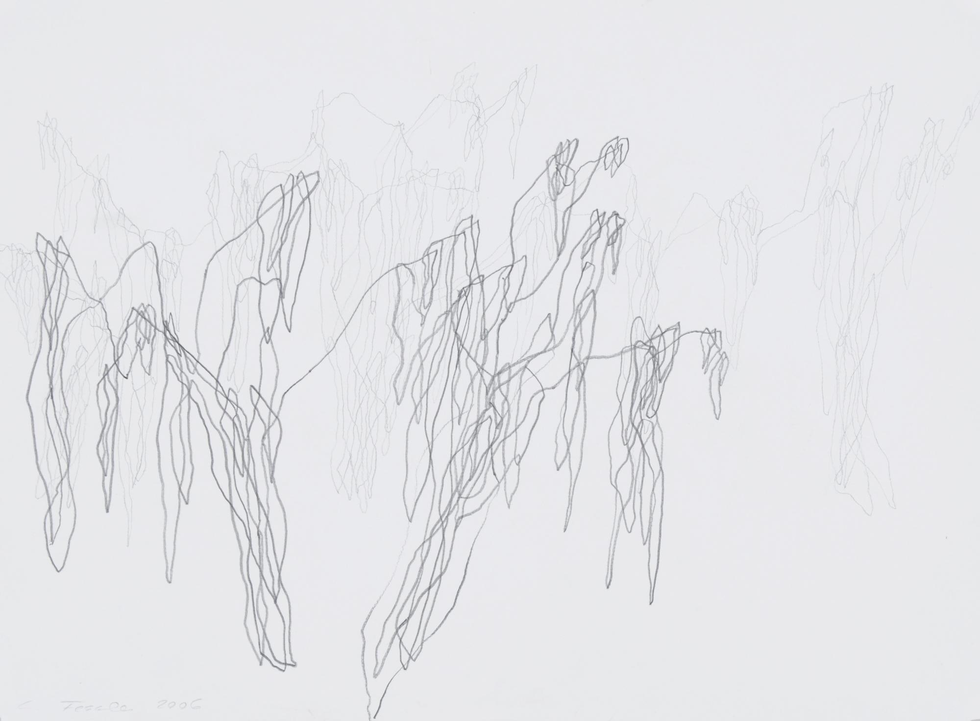 Fessler Cristina, 2 drawings: Banyan Tree, 2006; Pipal Tree