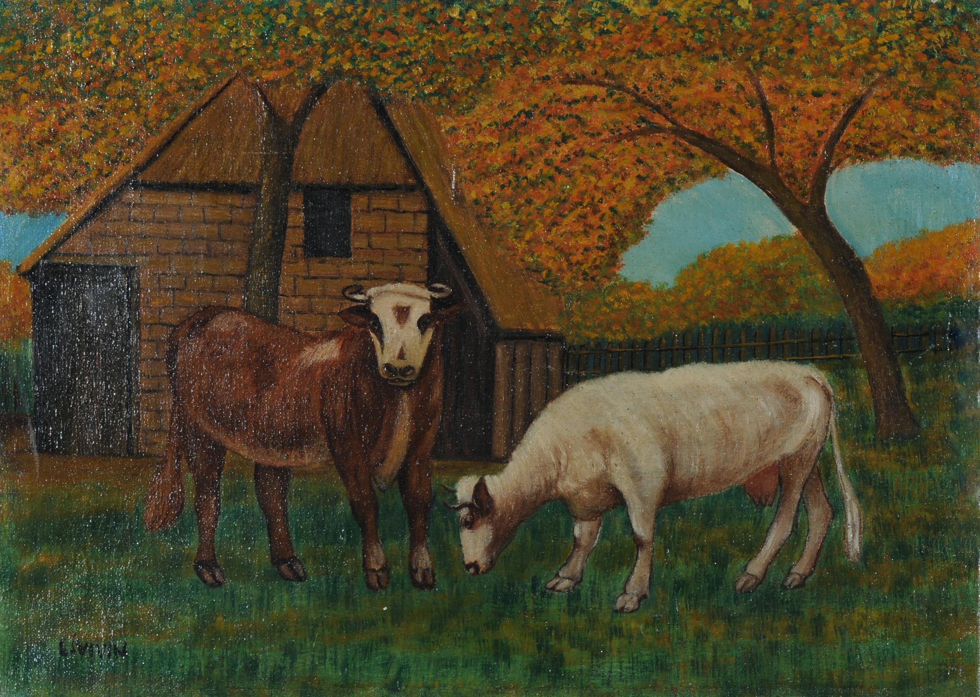 Vivin Louis, Les vaches