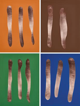 4 multiples: Mr. Blue, Mr. Brown, Mr. Orange, Mr. Green