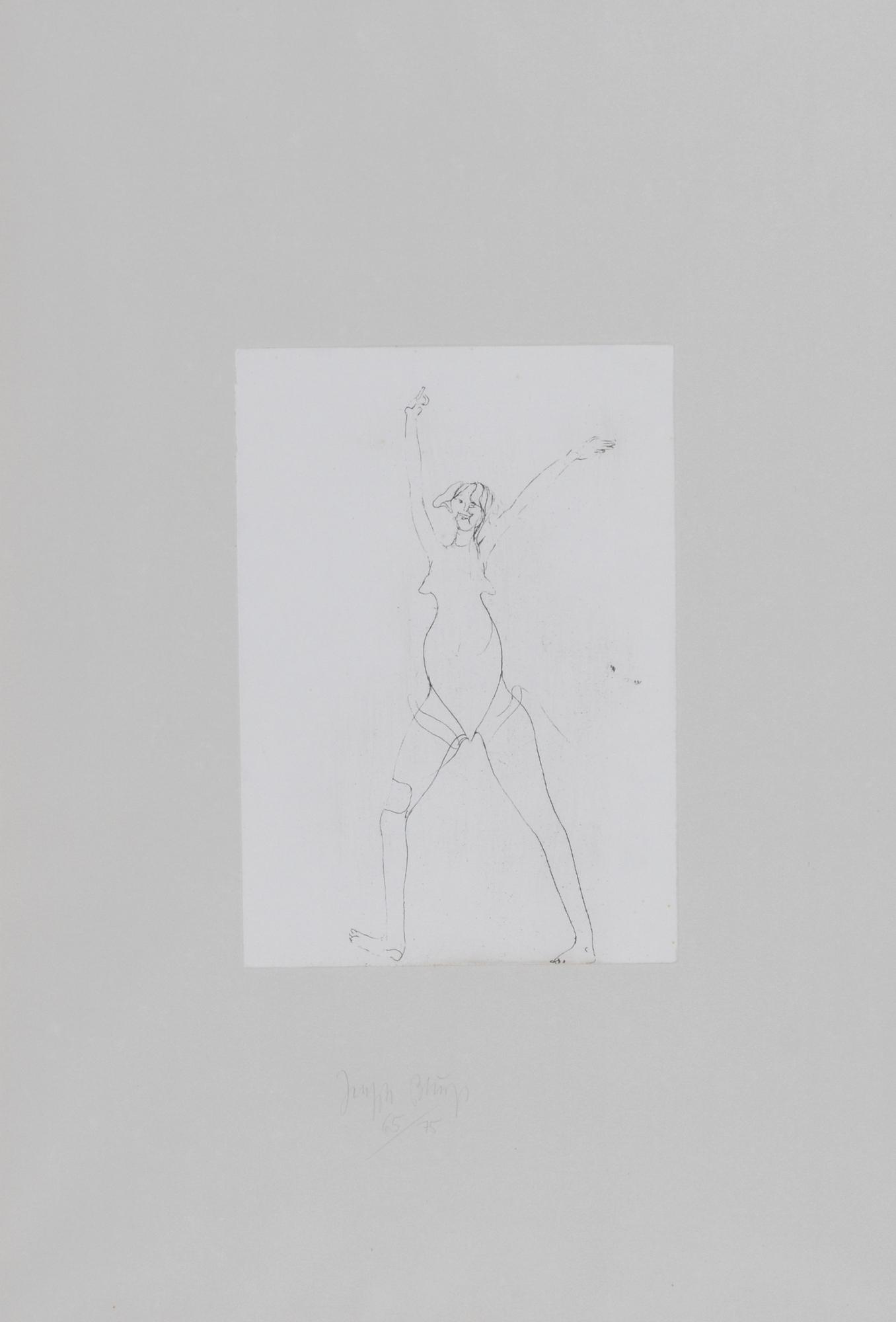 "Beuys Joseph, Untitled (Girl), from ""Zirkulationszeit"""