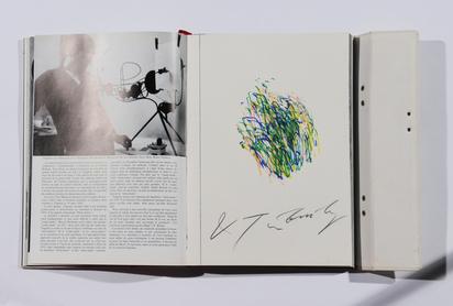 Book. K.G. Pontus Hultén. Jean Tinguely, Méta