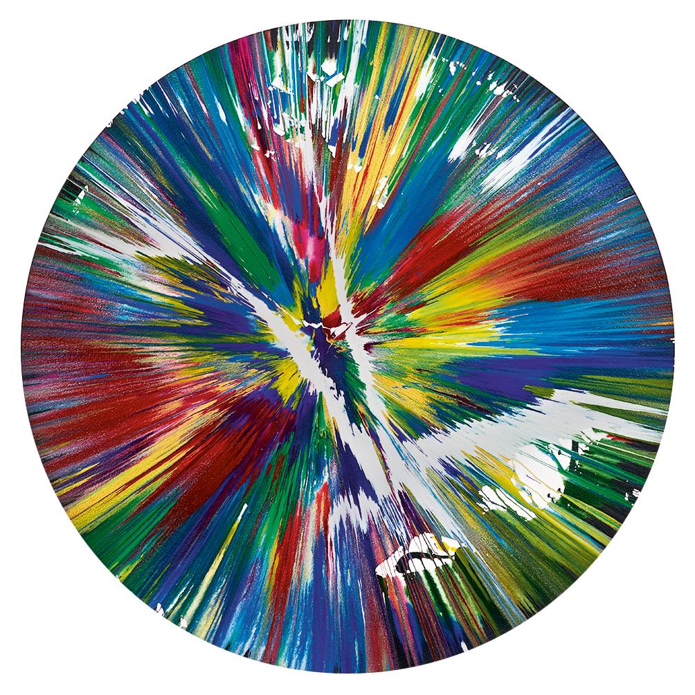 Hirst Damien, Circle Spin Painting