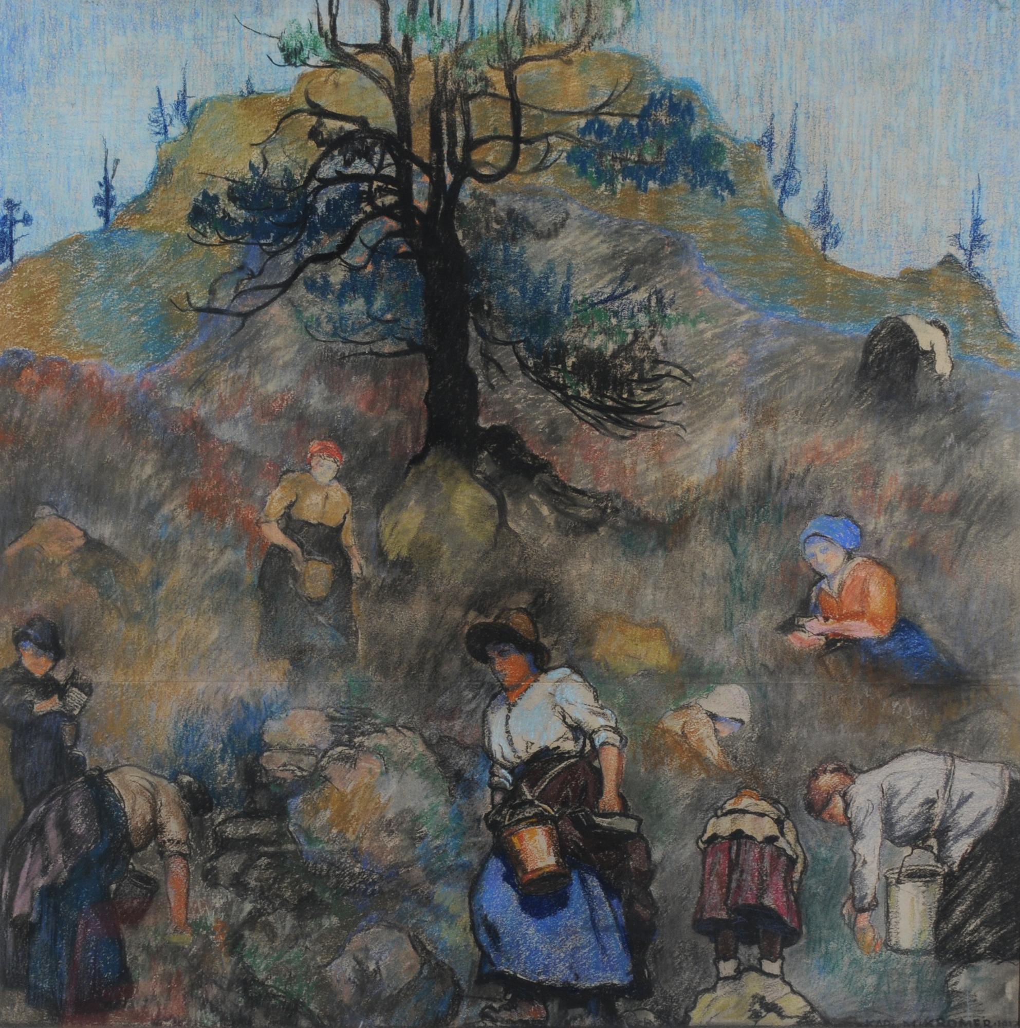 Kromer Karl M., Die Beerenleserinnen