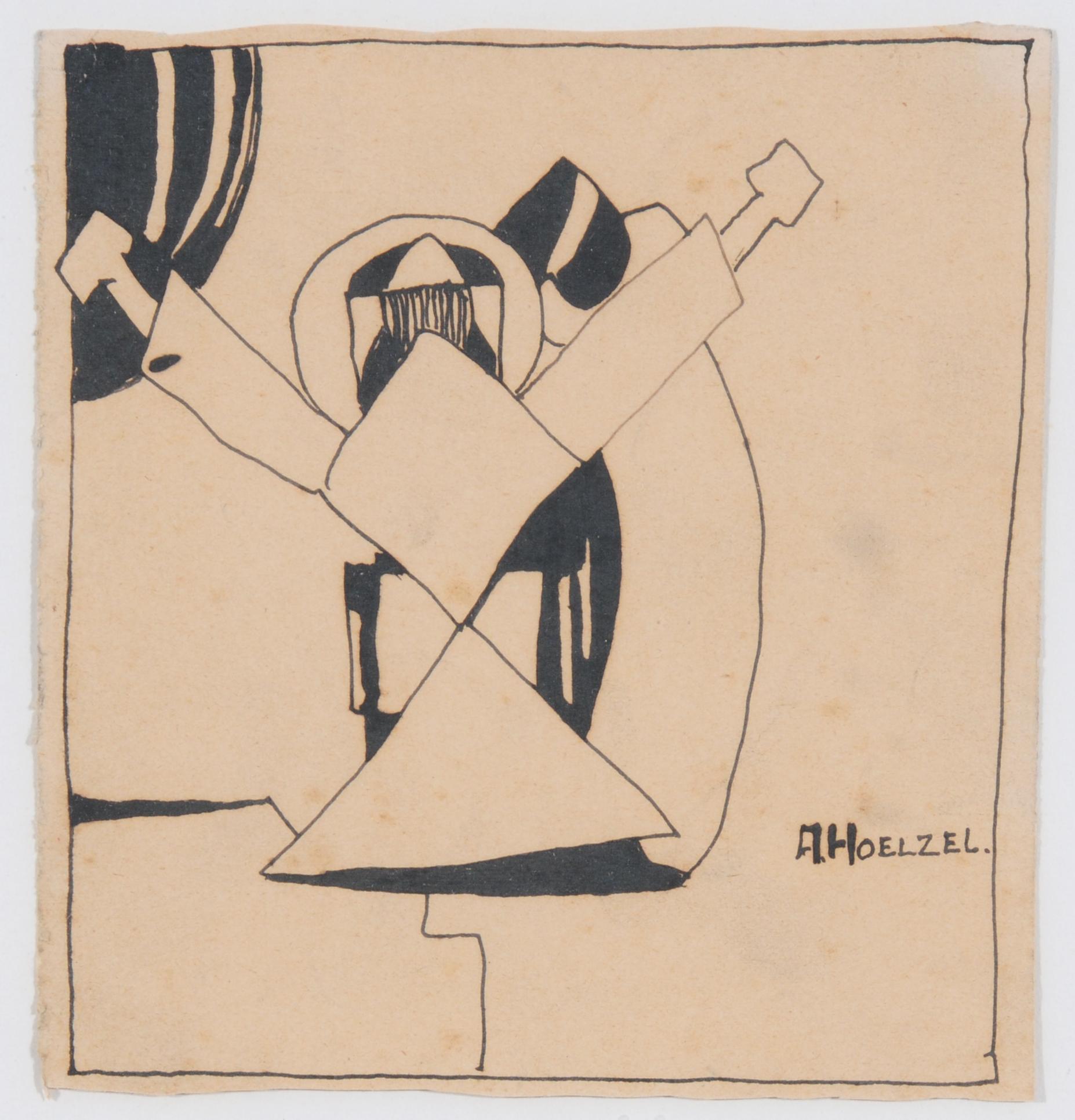 Hölzel Adolf, Untitled
