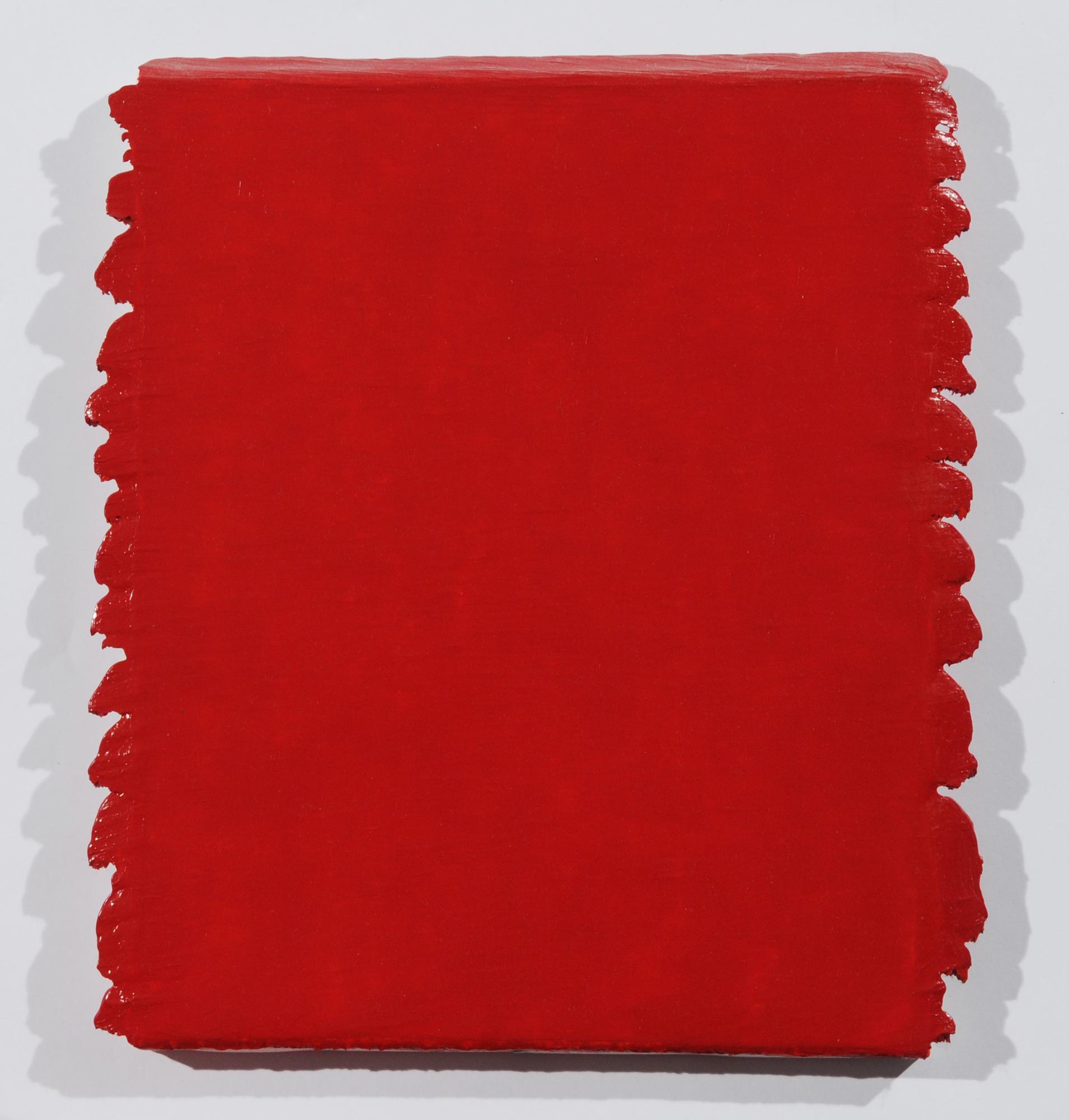 Aubertin Bernard, Monochrome Rouge N° 190