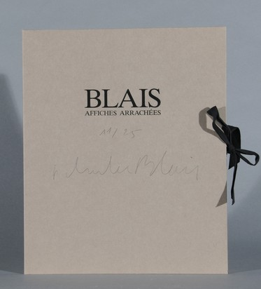 Book. Blais, Affiches Arrachées 1981-1990