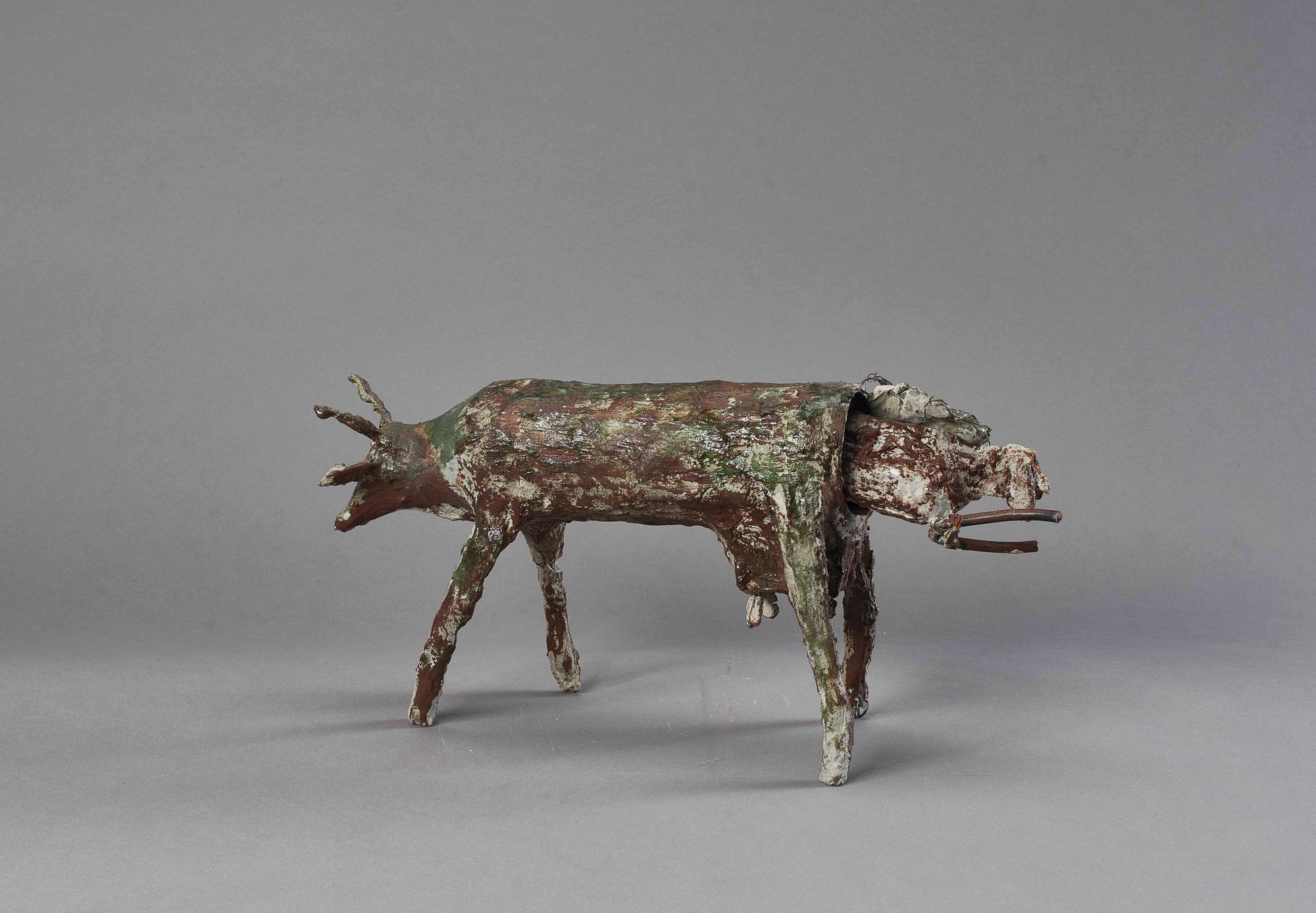 Bleiker Ulrich, Kuh mit Kalb (Cow with Calf)
