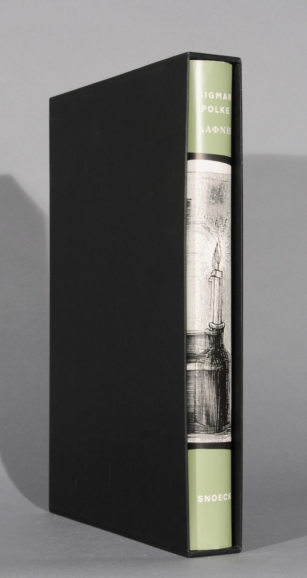 Polke Sigmar, Book. Daphne, ein Künstlerbuch