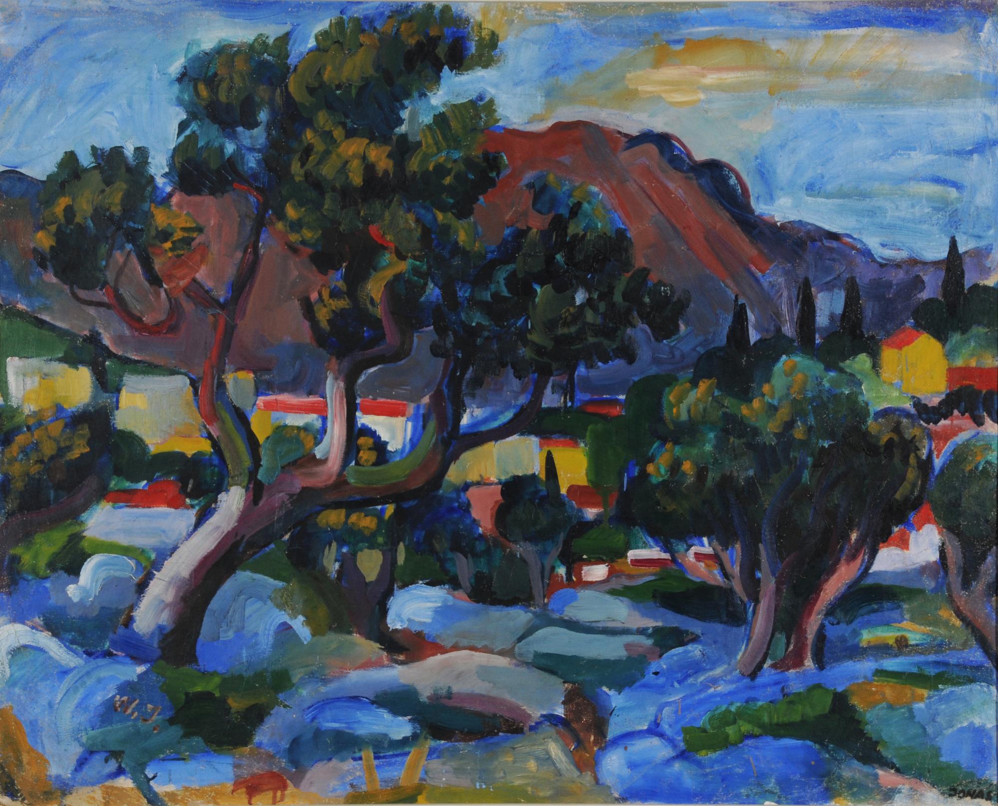 Jonas Walter, Tessiner Landschaft (Tessin Landscape)