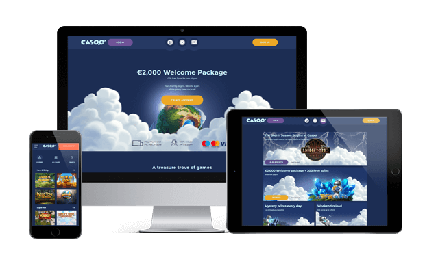 casoo casino website devices