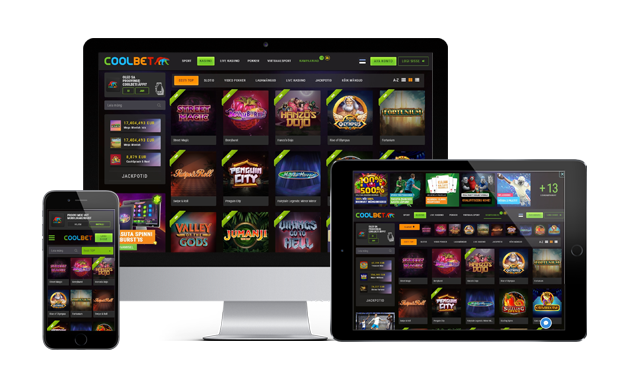 coolbet kasiino website review