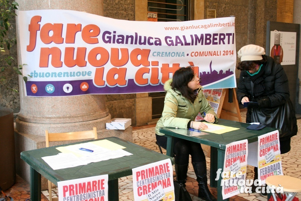 Partita la raccolta firme <br/> per Galimberti alle primarie