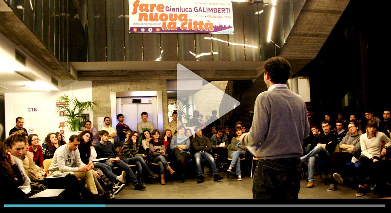 'Spazi e intraprendenza' <br/> L'incontro con i giovani