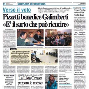 Pizzetti benedice Galimberti