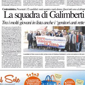 La squadra di Galimberti