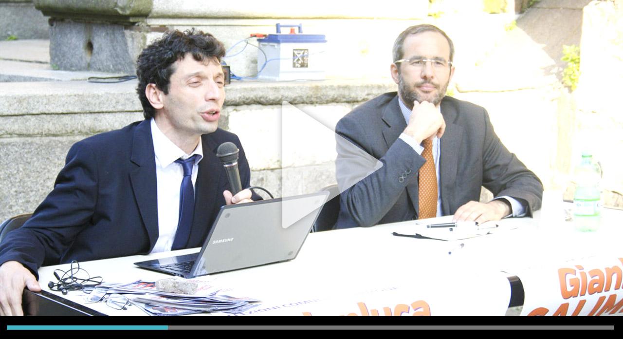 Legalità, Galimberti con Ambrosoli