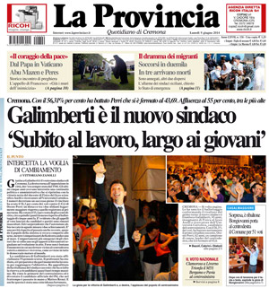 Galimberti è il nuovo sindaco