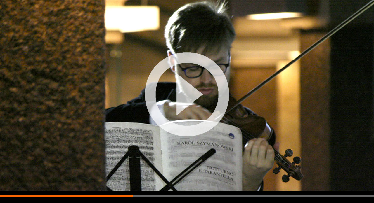 Cremona a San Pietroburgo. Un assaggio del concerto con il Vesuvius di Stradivari
