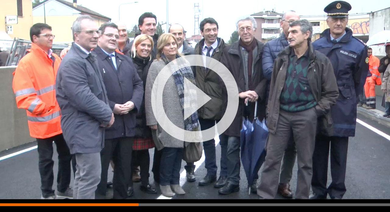 Abbiamo inaugurato il sottopasso di via Persico: grazie anche ai residenti che hanno sopportato i disagi