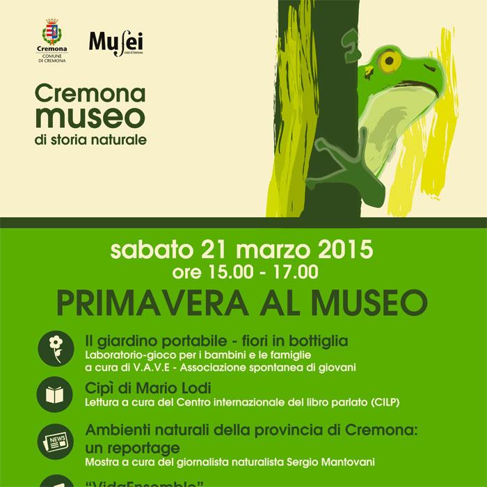 La Festa di Primavera si festeggia il 21 marzo al Museo di Storia Naturale