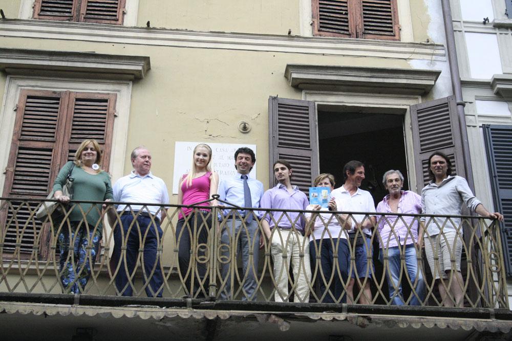 La casa di Stradivari suona: dal 13 giugno audizioni dal balcone in corso Garibaldi con la violinista Anastasiya Petryshak