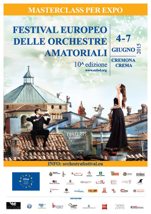 Festival Europeo Orchestre Amatoriali: fino a domenica concerti di 700 musicisti da 13 paesi europei. Cremona capitale della musica!