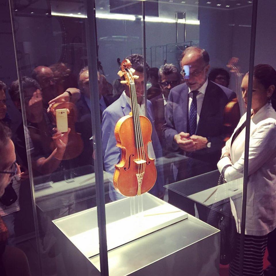 E' arrivato il Messia di Stradivari a Cremona: la cultura che genera cultura