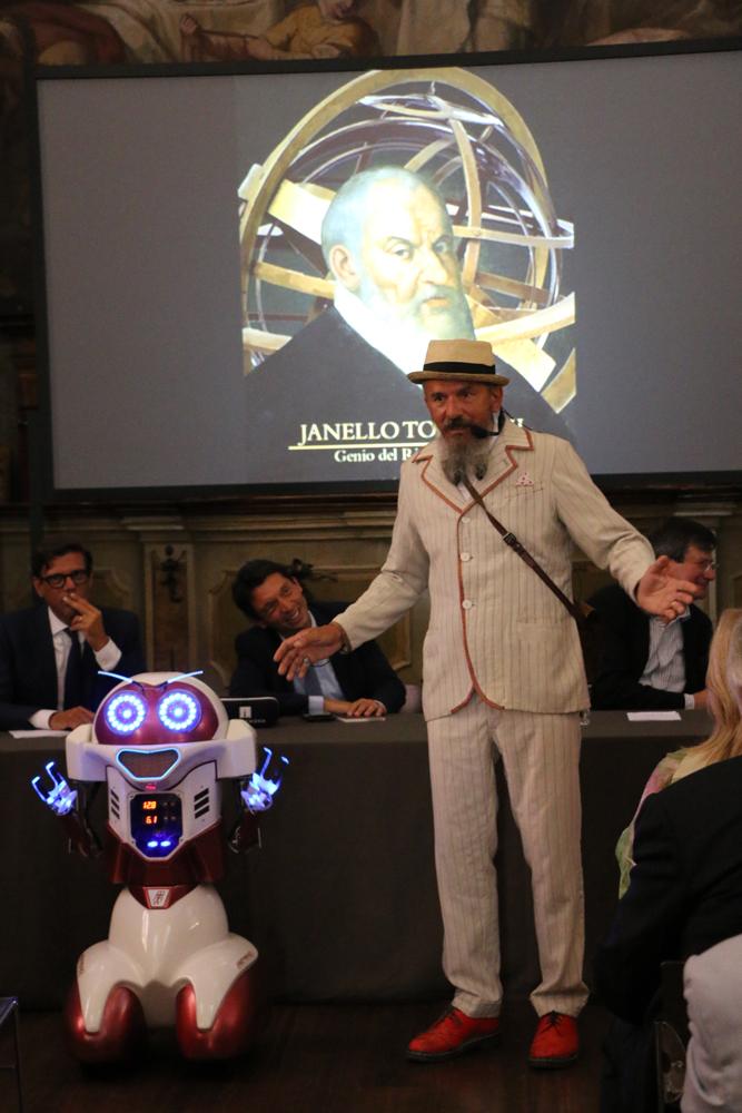 Torriani protagonista al Museo della Scienza di Milano. Storia e tecnologia: così riscopriamo il nostro Genio del Rinascimento