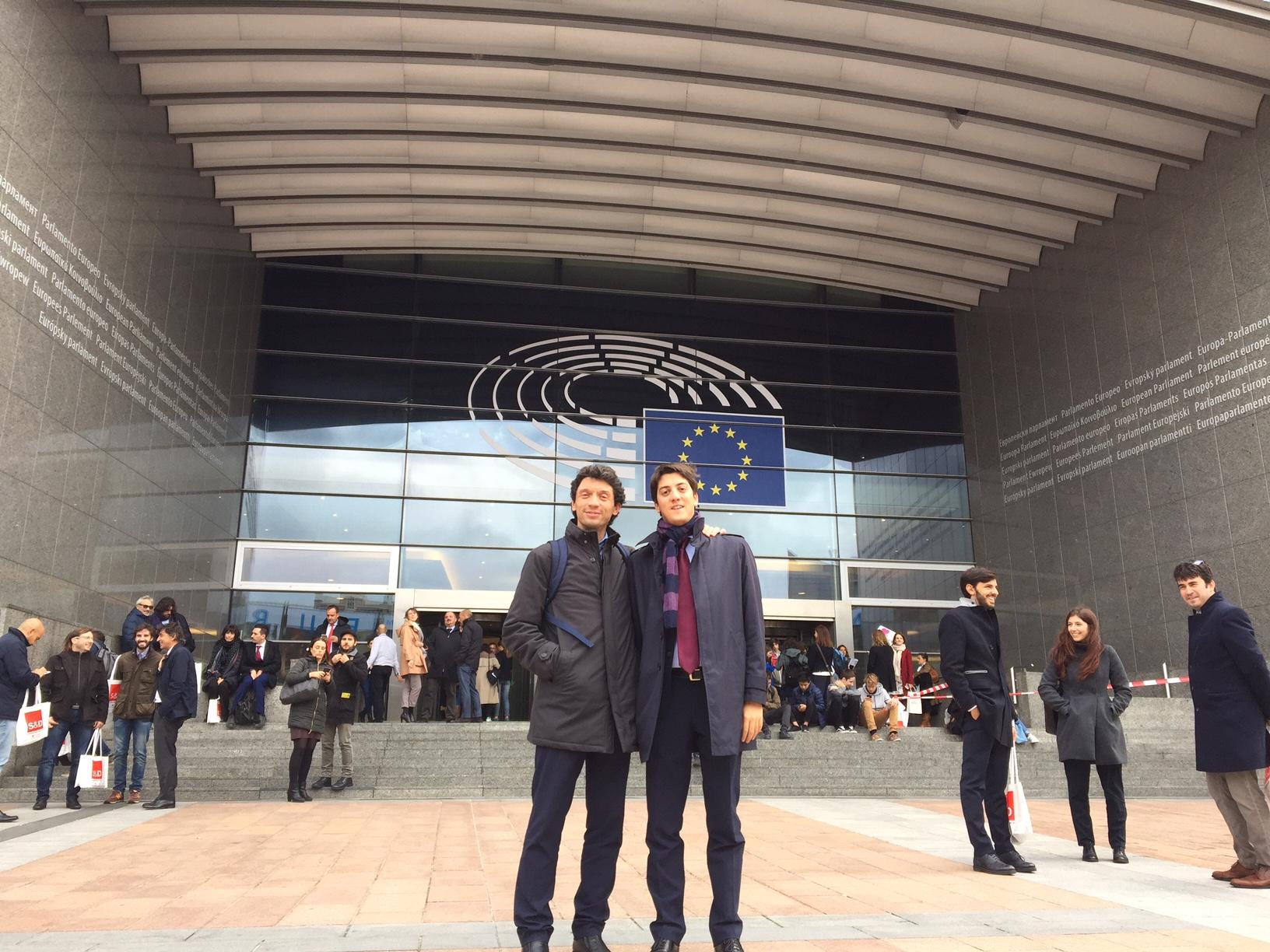 Abbiamo portato le Monteverdiane 2017 al Parlamento Europeo: lavoriamo su bandi e sinergie