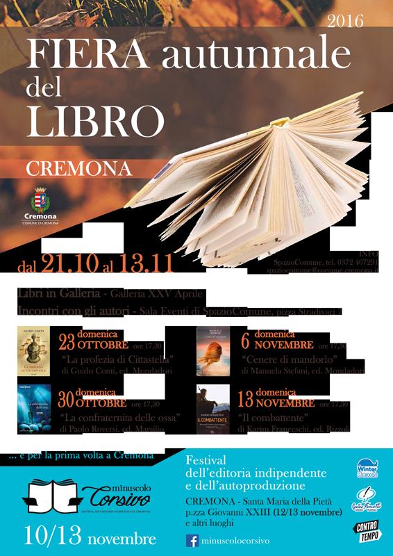 Nuova formula per la Fiera del libro, quest'anno diamo il via al festival letterario dell'editoria indipendente 'minuscoloCorsivo'