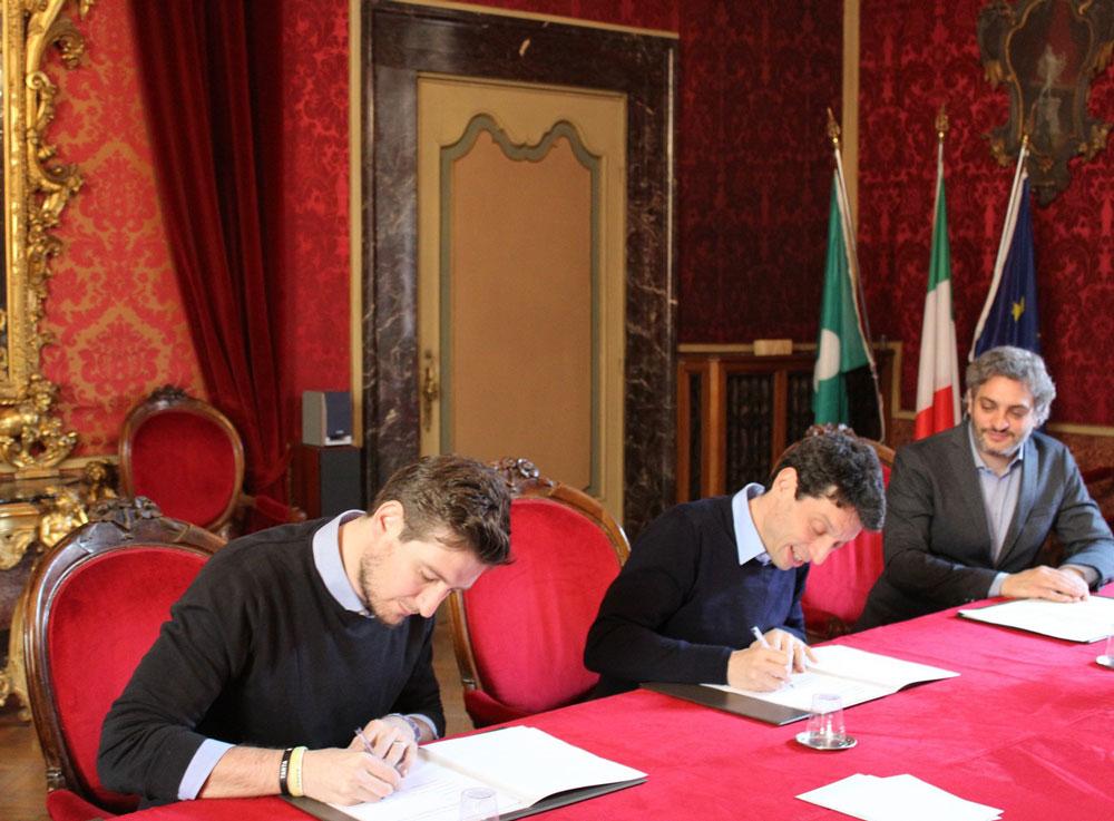 Firmato protocollo con Amici di Robi: insieme progetti con i giovani e per i giovani