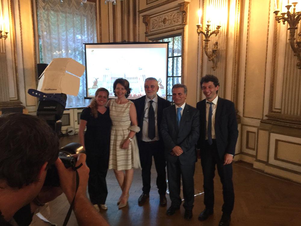 Genovesino e saper fare cibo, Cremona ancora protagonista all'Ambasciata a Vienna