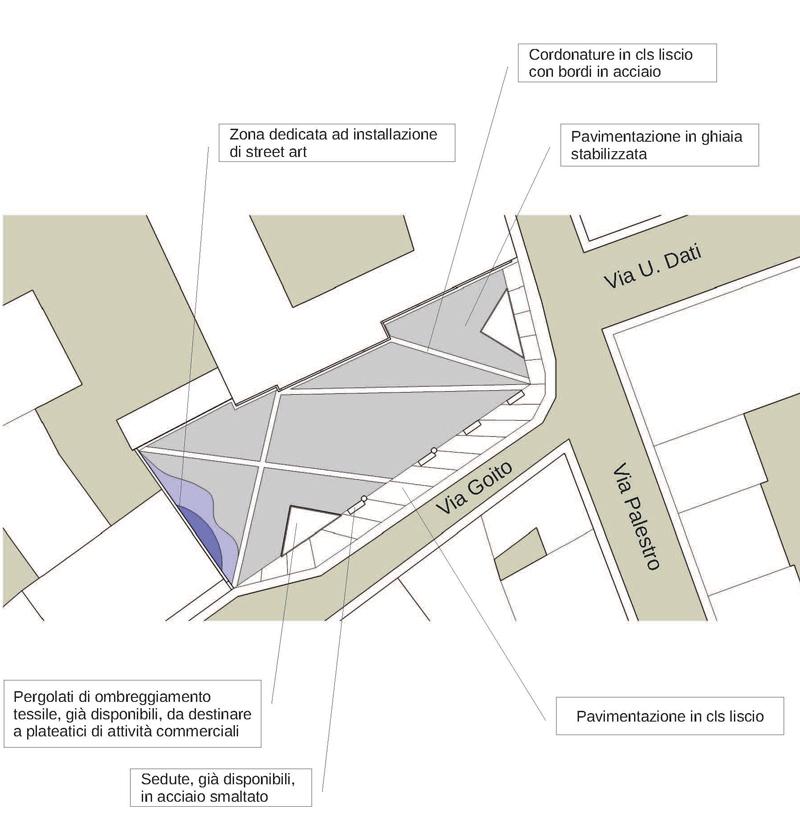 Via Goito, approvato il progetto: un altro spazio che restituiamo alla città. Sarà un piccola piazza in un comparto che rinasce!