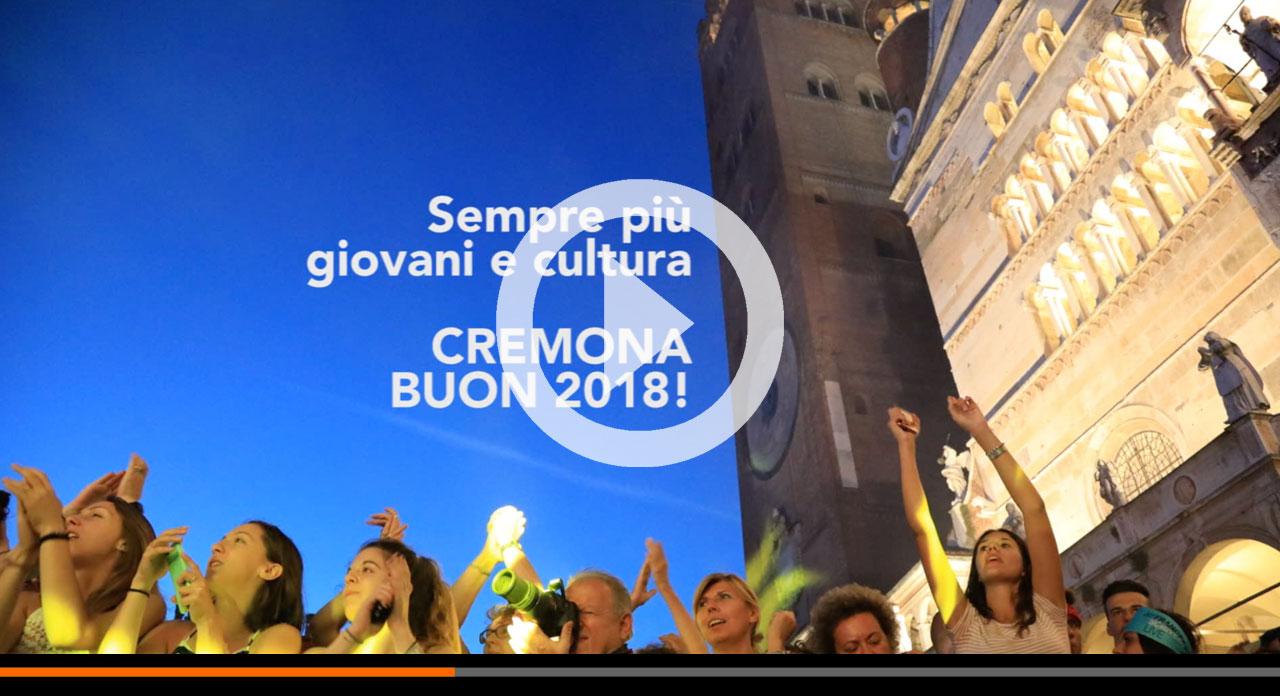 Cremona, auguri per un 2018 di giovani!