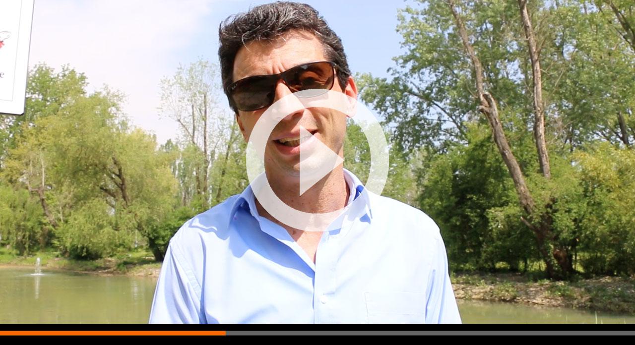 Laghetto a parco Po: basta spreco di acqua potabile e risparmio di 40mila euro l'anno