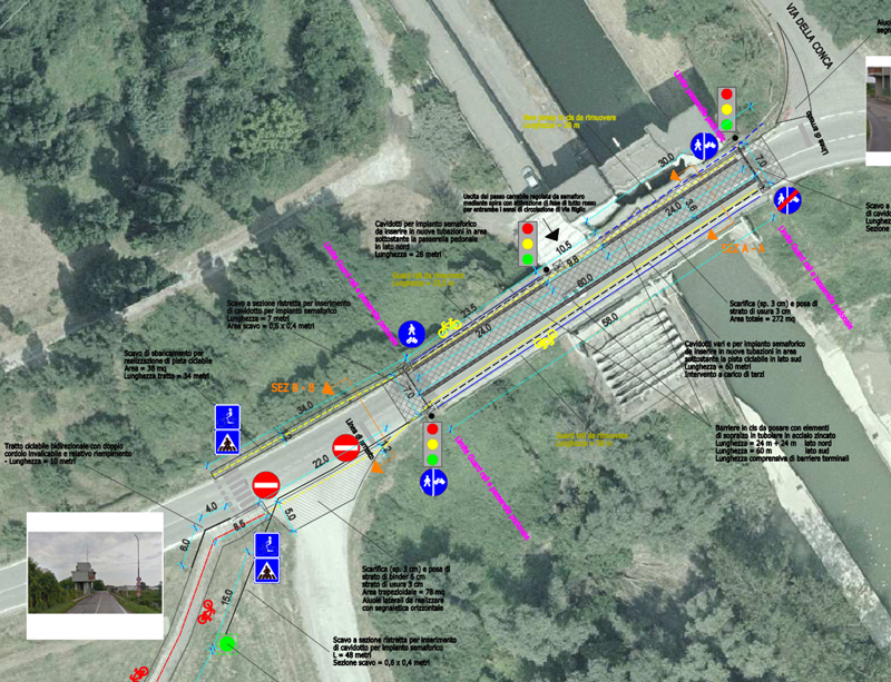Via Riglio, completiamo altri 450 metri di VenTo. Approvato il progetto!