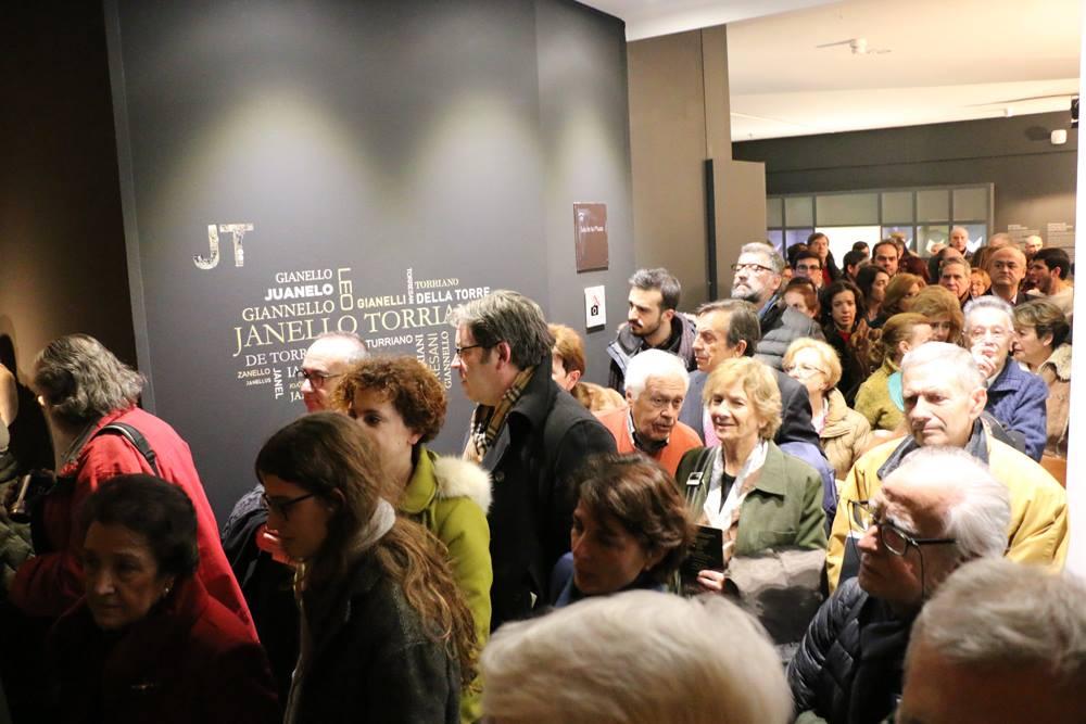 Torriani ha incantato anche Madrid: oltre 34mila visitatori alla mostra alla Biblioteca spagnola