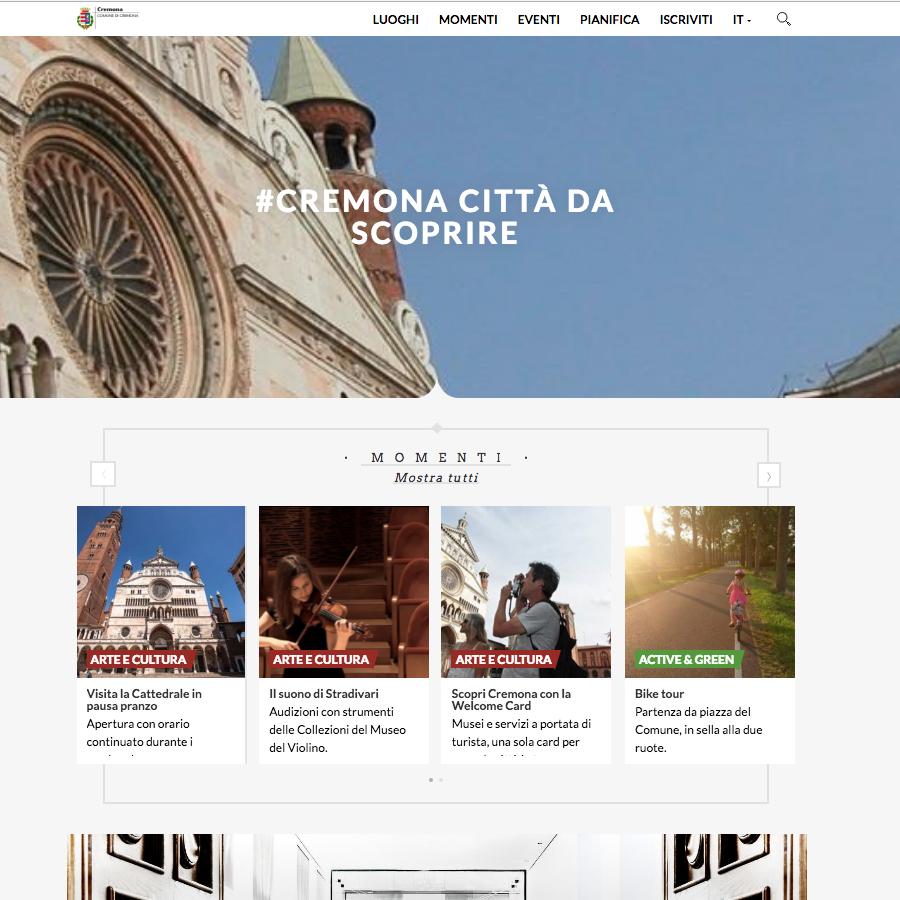 On-line il nuovo sito del turismo di Cremona. Gli operatori possono pubblicare e vendere le loro proposte!