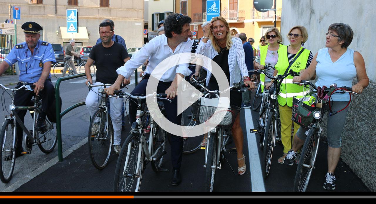 Nuova pista ciclopedonale in via del Sale: una terrazza sul comparto Po!