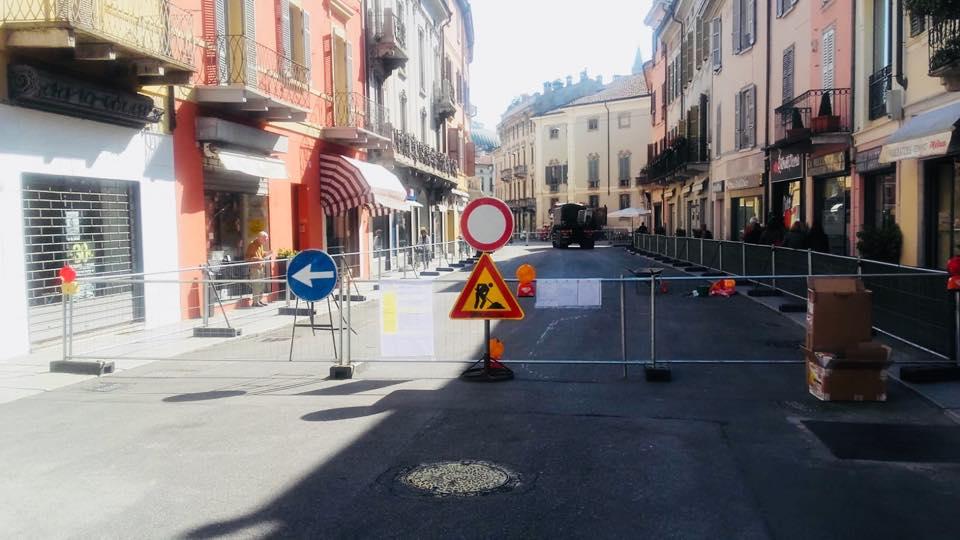 Riqualificazione corso Garibaldi: pavimentazione e arredo. Iniziati i lavori!