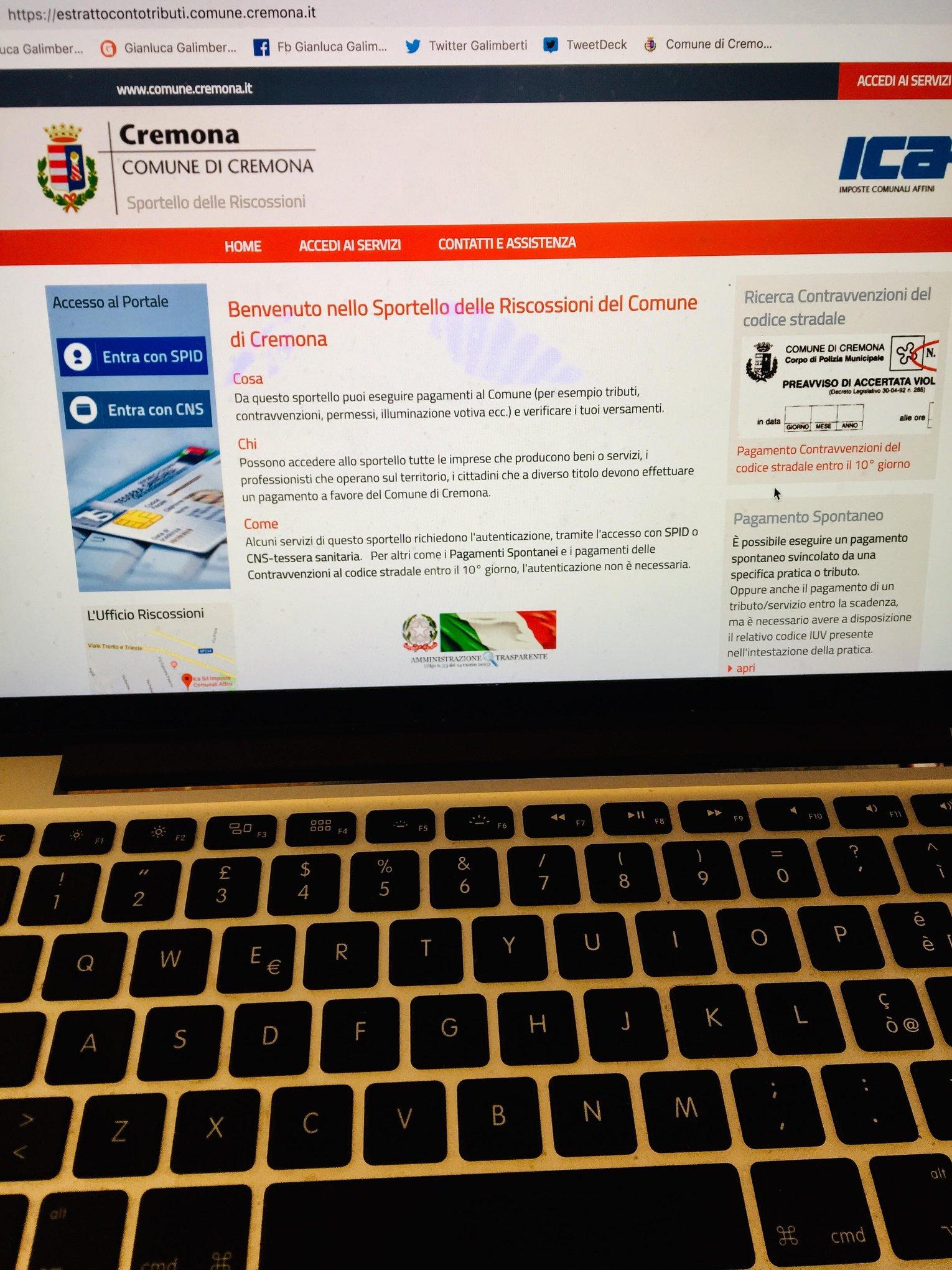 SportelloRiscossioni on-line, 24 ore su 24 e dal computer accesso a pagamenti e addebiti