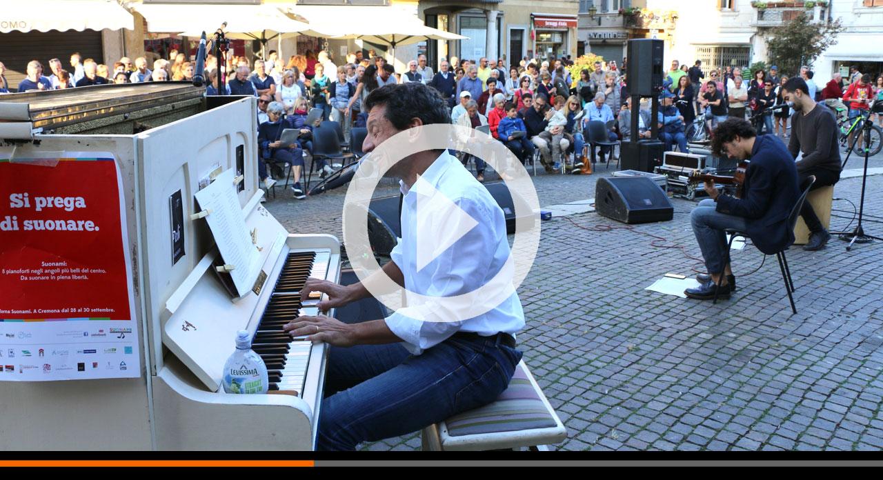 Suonami in Largo Boccaccino con i fatelli Ruggeri: un pomeriggio bellissimo di musica e incontro!