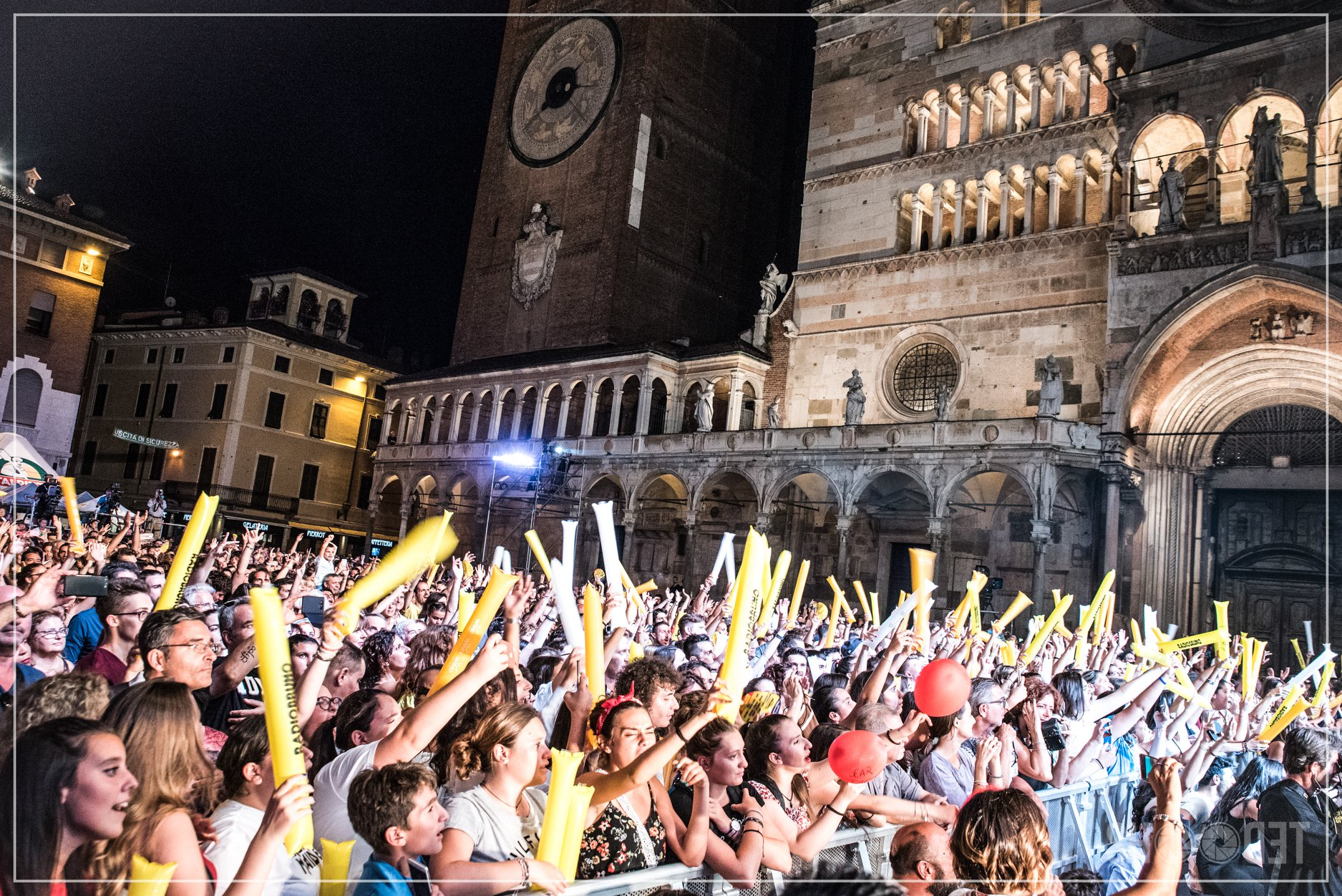 Grandi concerti sotto il Torrazzo