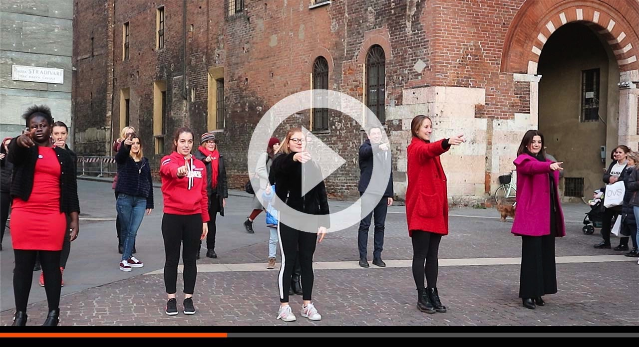 One Billion Rising Cremona 2019 contro la violenza su donne e bambine