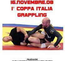 FIJLKAM - 1 Coppa Italia di Grappling 2008 2