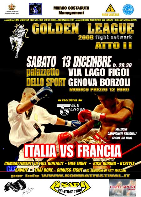 GOLDEN LEAGUE: Italia Vs Francia 11