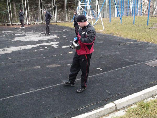 Fedor Emelianenko si allena...(foto) 13